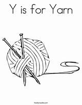 Yarn Coloring Ball Knitting Twistynoodle Activity Twisty Noodle Speak Nail Needles sketch template