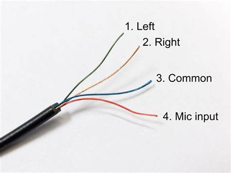 wire color code headphones headphone wiring headphone free engine image