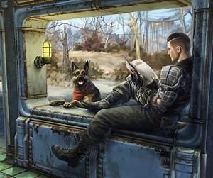 Sole survivor fallout fan art dogmeat | Fan Tributes ...