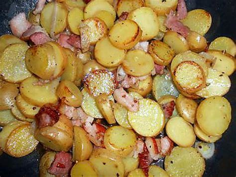 recette de gratin de pommes de terre nouvelles au lard et
