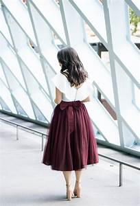 Bow Tulle Skirt Just A Tina Bit