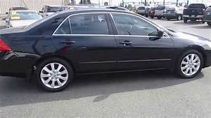 2007 Honda Accord  Black - Stock  13218p