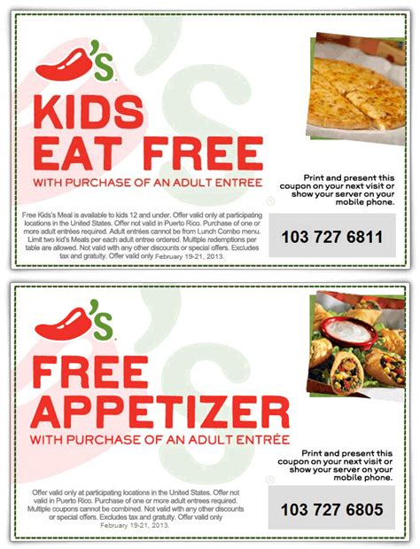promotion cuisine chilis coupons 2015 search results calendar 2015