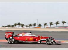 Sebastian Vettel, Ferrari, Bahrain International Circuit