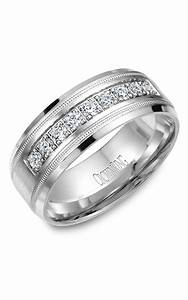 crownring crown ring men39s wedding band wb 9083 With crown ring mens wedding bands