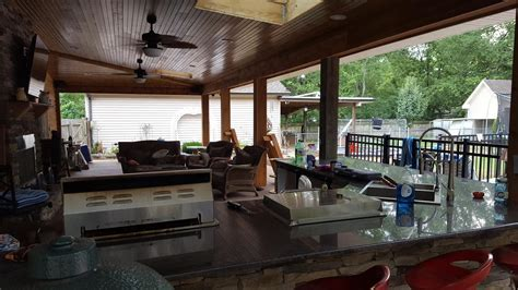 Joe M. Staub Building Group   Covered Patio with Outdoor