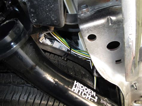 Tow Package Wiring Harness With Pole Trailer Connector