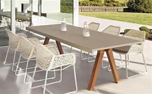 Table Jardin Design : mobilier de jardin design original par patricia urquiola design feria ~ Melissatoandfro.com Idées de Décoration