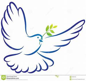 Clip Art Of Outline Of Dove Pictures to Pin on Pinterest ...