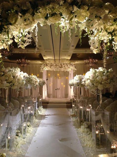 Wedding Decoration Design by Wedding Chuppah Designs Winter White Weddings Evantine