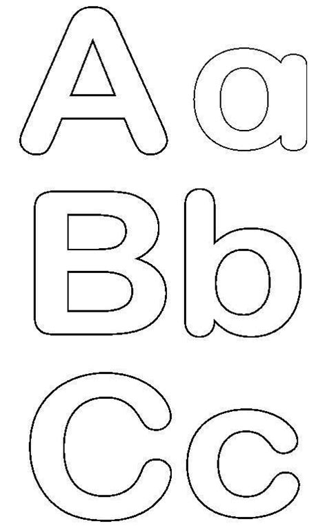 Traceable Alphabet Templates Templates For Alphabet Letters Free Free Printable