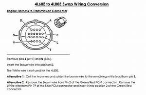 Gm 4l60e Transmission Wiring Diagram