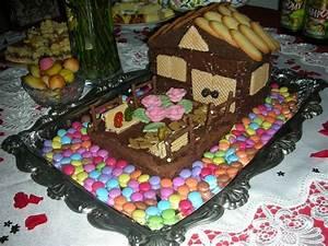 Gateau En Forme De Maison : un gateau en forme de maison home baking for you blog photo ~ Nature-et-papiers.com Idées de Décoration