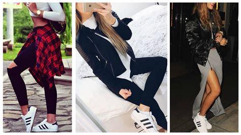 Outfits con Tenis/Zapatillas Deportivas | Adidas Superstar | Doovi