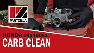 Honda 400ex Atv Carb Rebuild  U0026 Cleaning