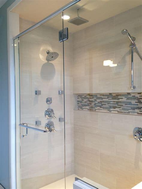 bathroom niche ideas mosaic shower niche seaside bathroom