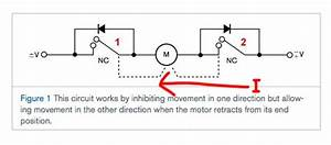 Motor Limit Switch Circuit