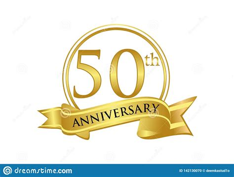 50th Wedding Anniversary Royalty Free Stock Photography
