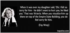 Sorry To My Daughter Quotes. QuotesGram