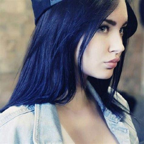 Best 25 Dark Blue Hair Dye Ideas On Pinterest Hair