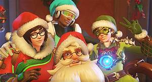 Overwatch Christmas Skins Revealed Santa Torbjrn PC Gamer