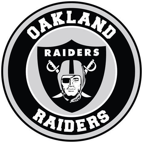 oakland raiders circle logo vinyl decal sticker  sizes