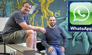 Jan Koum and Brian Acton: The rise of the WhatsApp duo ...