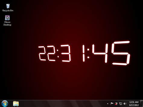 Digital Lock Wallpaper by White Digital Desktop Clock Wallpaper Free And Review