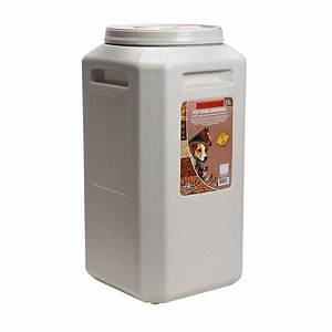 gamma plastics inc vittle vault 80 lb With ant proof dog food container