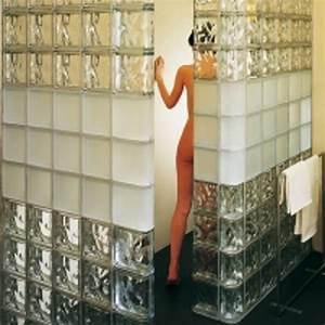 pose brique de verre salle de bain evtod With pave de verre salle de bain
