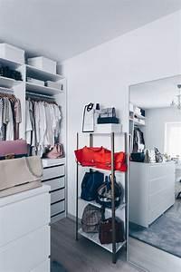 Kleiner Kleiderschrank Ikea : so habe ich mein ankleidezimmer eingerichtet und gestaltet ~ Watch28wear.com Haus und Dekorationen
