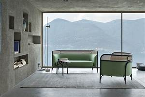 le canape design italien en 80 photos pour relooker le salon With tapis exterieur avec canapé bleu vert