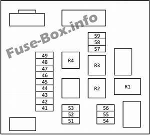 Nissan Qashqai 2007 Fuse Box Diagram