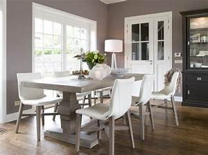 deco salle a manger couleur tendance exemples d39amenagements With salle a manger cocooning