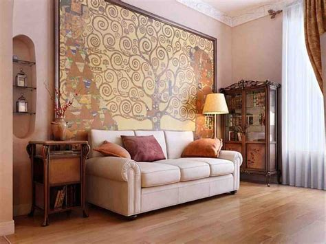 Modern Ideas Large Wall Decorating For Living Room