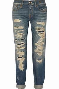 R13 Boy Skinny Low-Rise Skinny Jeans in Blue   Lyst