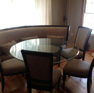 wrap around bench kitchen table dining room table corner bench set ashley crofton on popscreen