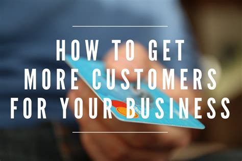 How To Get More Customers For Your Business  Best Customer Acquisition Ideas Youtube