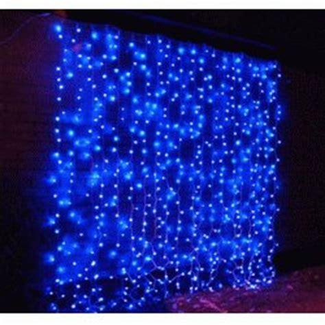 led curtain light led drape light in blue id 5152927