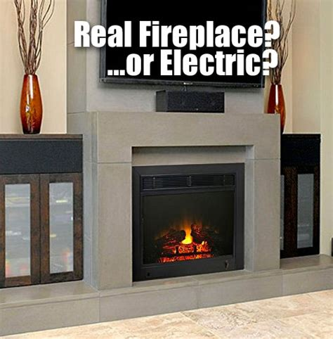 paramount electric fireplace insert   real