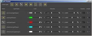 Light Manager - Arnold For Maya User Guide