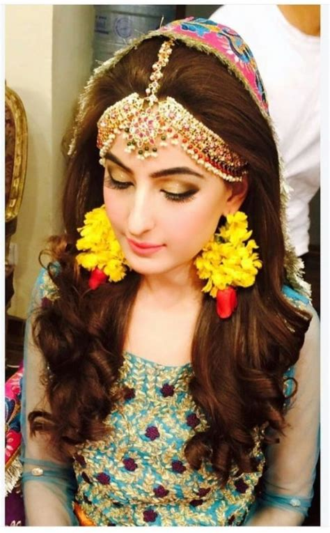 pakistani bridal hairstyles   wedding