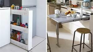 Resserre De Cuisine : comment optimiser l 39 espace dans une cuisine en longueur ~ Teatrodelosmanantiales.com Idées de Décoration