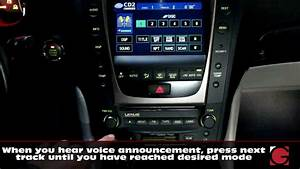 2006 Lexus Gs300 Bluetooth Hands Free And A2dp Streaming