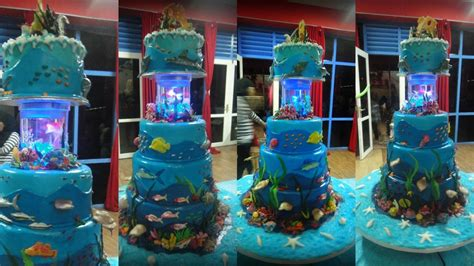Under The Sea Theme Cake-cakecentral.com