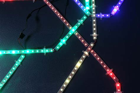 mit student builds real time mbta map into wall using led