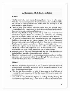 noise pollution essay pdf