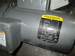 2 Hp Baldor Electric Motor  New  Single Phase  3450 Rpm