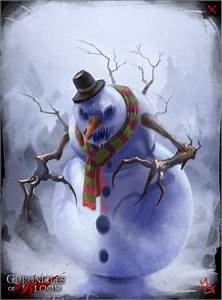 Evil snowman - Chronicles of Blood Wiki