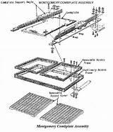 Escalator Escalators Landing Components Drawing Platforms Basic Getdrawings sketch template